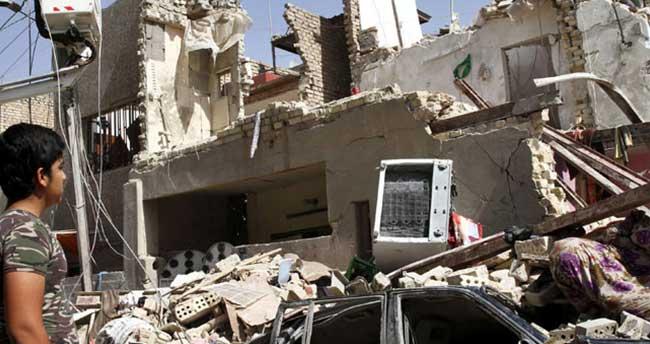 Irak savaş uçağı yanlışlıkla Bağdat'ı bombaladı: 12 ölü