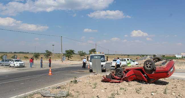 Karaman, Konya yolunda kaza : 3 yaralı