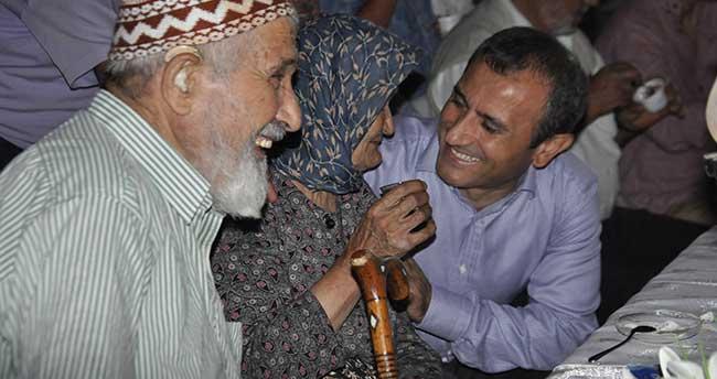 Kaymakam Sonel, şehit aileleri ve gazilere evinde iftar verdi
