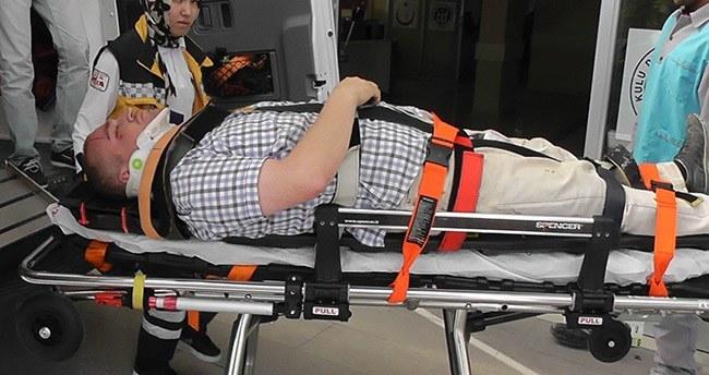 Kulu'da Trafik Kazası : 1 Yaralı