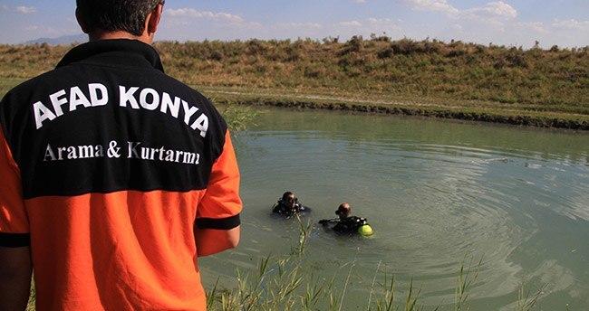 Konya'da Afganistanlı genç su kanalında boğuldu