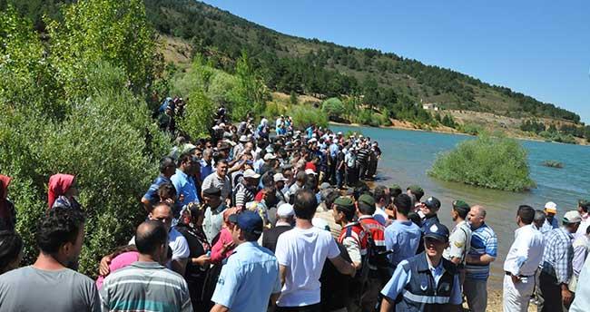 Konya'da gölette kaybolan 3 kişinin cesetlerine ulaşıldı