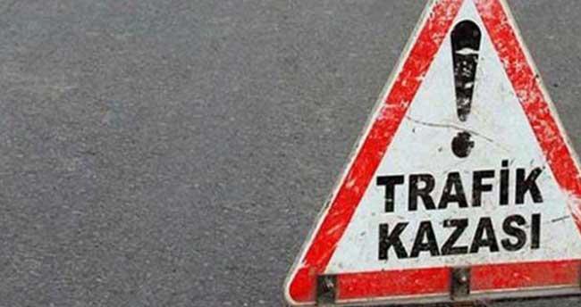 Konya'da hafif ticari araç uçuruma yuvarlandı: 1 ölü, 1 yaralı