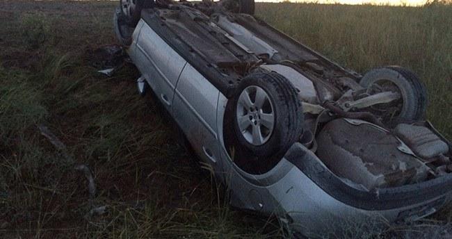 Konya'da otomobil devrildi: 9 yaralı
