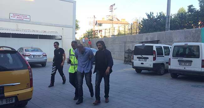 Konya'da soygun girişimi