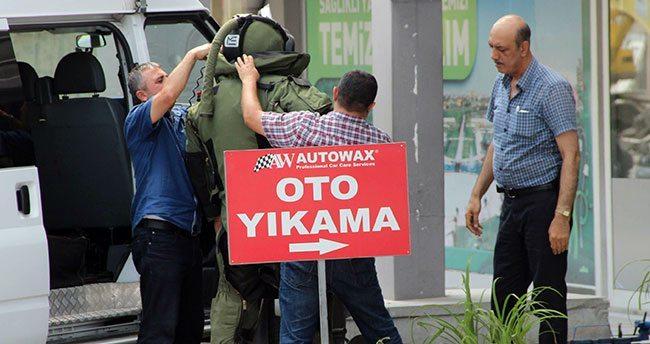 Konya'da şüpheli paket alarmı!
