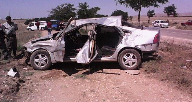 Konya'da trafik kazası: 2 ölü, 2 yaralı