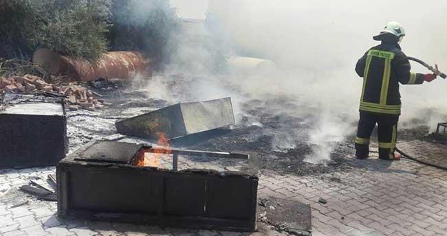 Kulu'da Dinlenme Tesisinde Korkutan Yangın