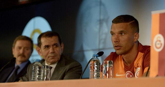 Lucas Podolski Galatasaray'da