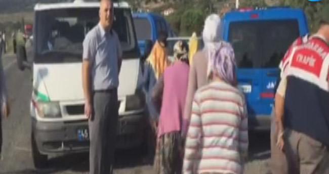 Manisa'da trafik kazası: 15 ölü