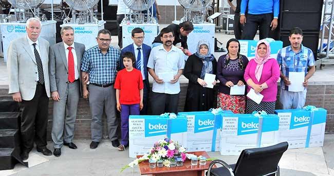 Milli Piyango Çekilişi Akşehir'de Yapıldı