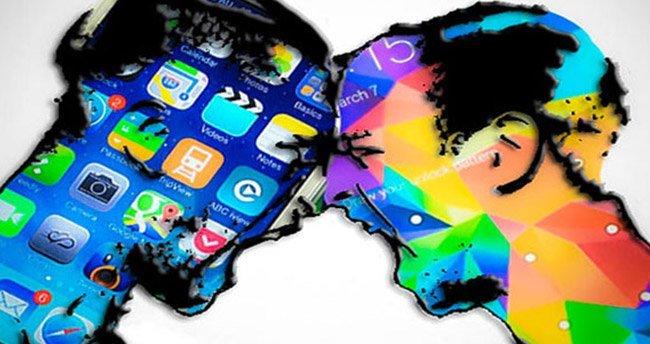 Samsung Apple'a taş atmaya devam ediyor