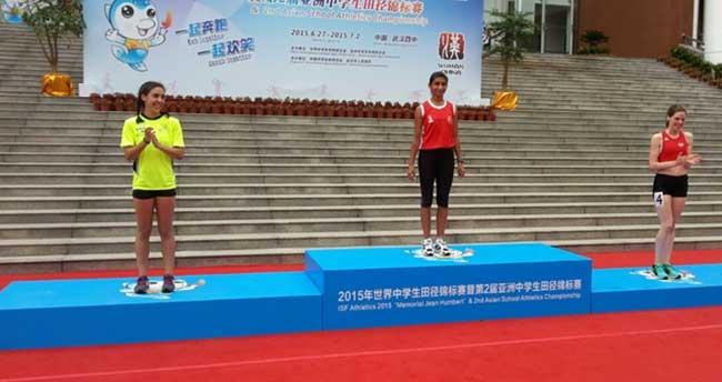 Şevval, Çin'den dünya birinciliğiyle döndü