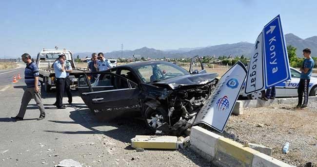 Seydişehir'de Trafik Kazası: 6 yaralı