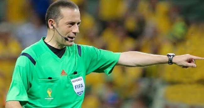 TFF Süper Kupa'yı Cüneyt Çakır yönetecek