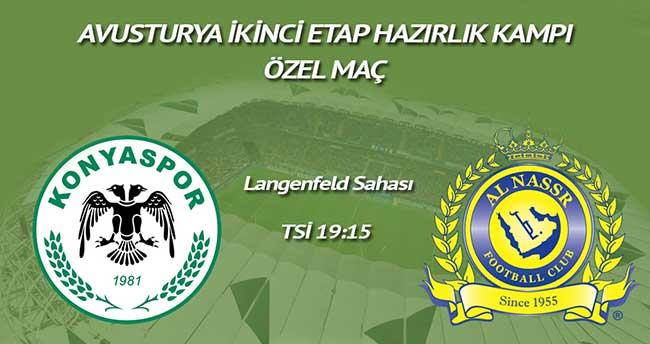 Torku Konyaspor yarın Al Nassr ile karşılaşacak