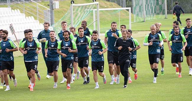 Torku Konyaspor'un Avusturya Kampı Başladı