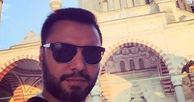 Ünlü türkücü Alişan Selimiye Camii'ne bir kez daha hayran kaldı