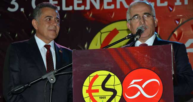 Vali Tuna: '40 yıllık Galatasaraylı olarak artık Eskişehirsporlu olduk'