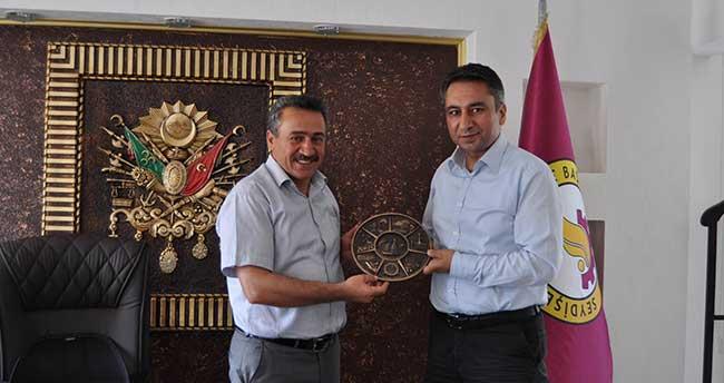 Vergi Dairesi Müdürü Fatih Polat'tan Veda Ziyareti