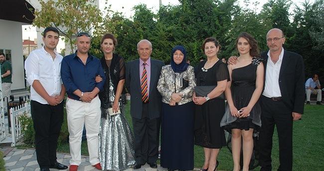 Alkan ve Soral ailelerinin mutlu günü