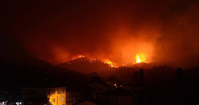 Bursa cayır cayır yanıyor!