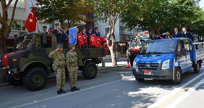Konya'da 30 Ağustos kutlamaları