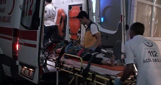 Konya'da Suriyeli işçileri taşıyan traktör devrildi: 24 yaralı