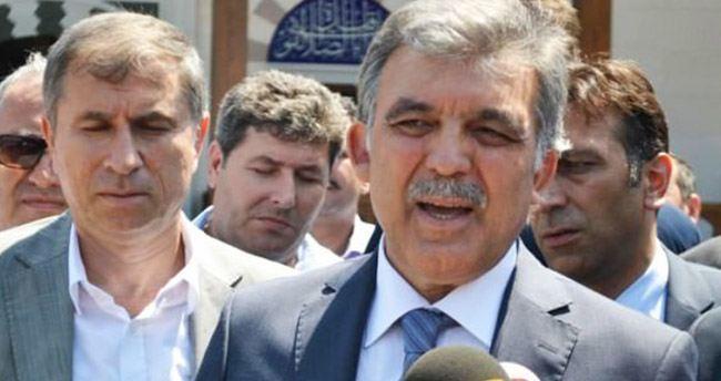 Abdullah Gül'den hain saldırı sonrası ilk açıklama