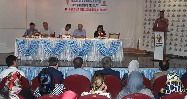 AK Parti Beyşehir 46. Danışma Kurulu toplantısı