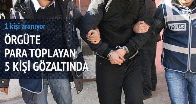 Aksaray'da 'Paralel Yapı' operasyonu: 5 gözaltı