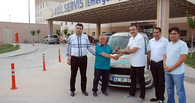 Akşehir Devlet Hastanesi'ne Araç Desteği