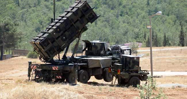 Almanya'dan sonra ABD'de Patriot füzeleri çekiyor