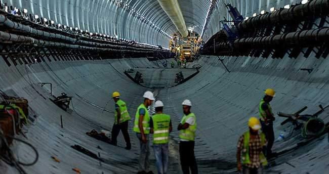 Avrasya Tüneli'nde son 75 metre