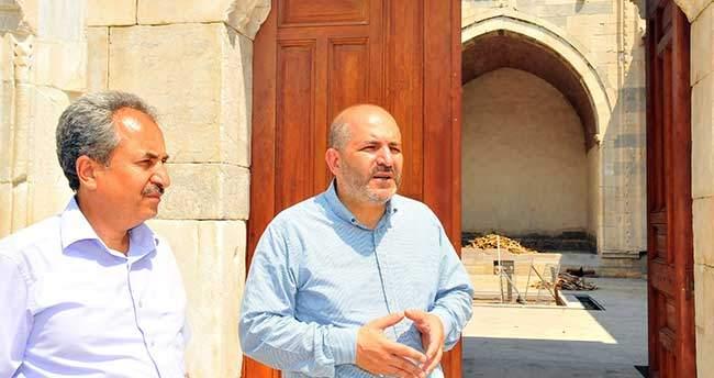 Baloğlu ve Akkaya restorasyon çalışmalarını inceledi