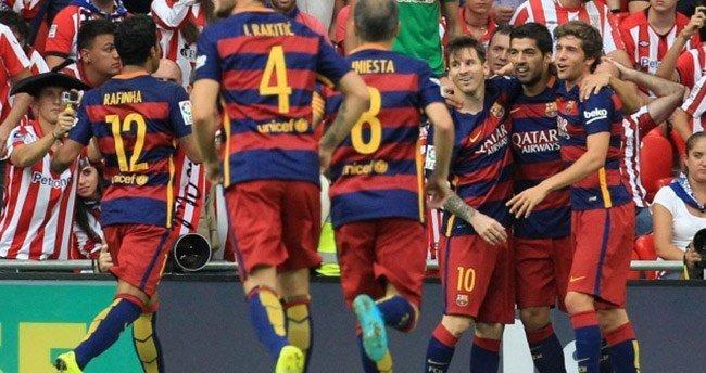 Barça galibiyetle başladı!