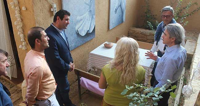 Başkan Demircan, Sonsuz Şükran Köyünü Ziyaret Etti