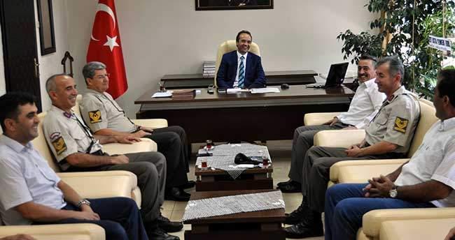 Başkan Tutal'dan, Kaymakam Özyiğit'e Ziyaret