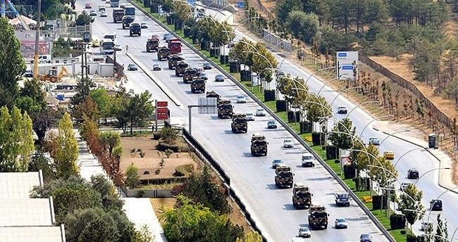 Başkent'te 30 Ağustos'ta bazı yollar kapalı