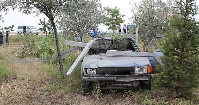 Cihanbeyli'de trafik kazası: 1 yaralı