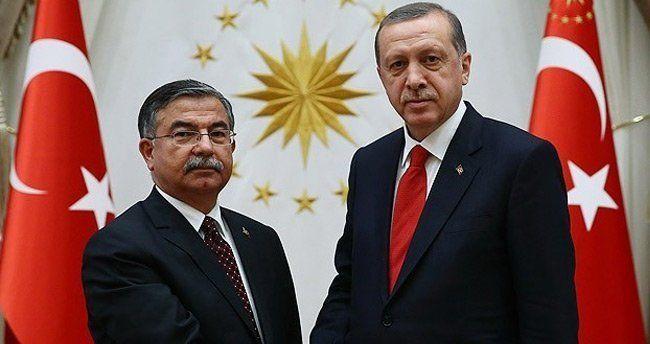 Cumhurbaşkanı Erdoğan TBMM Başkanı Yılmaz'ı kabul etti