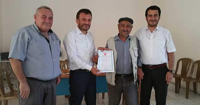 Çumra'da 70 Aile Tapularına Kavuştu