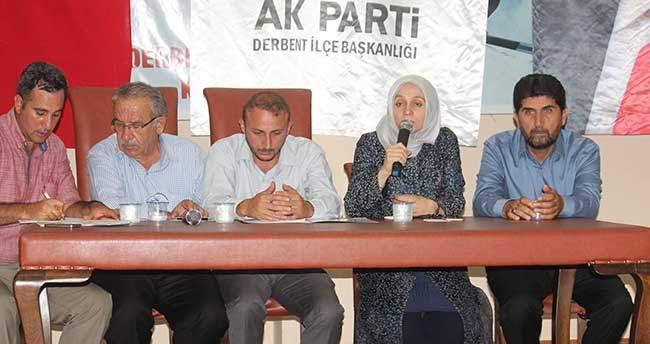 Derbent'te 46. Dayanışma Meclisi Toplantısı Yapıldı