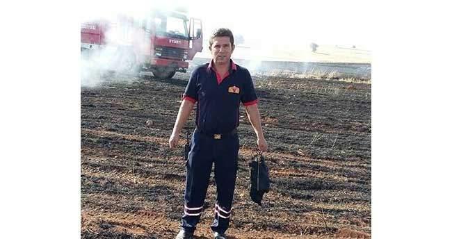 Elektrik Tellerine Temas Ederek Alev Alan Karga Yangın Çıkardı