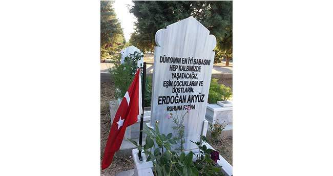 Erdoğan Akyüz dualarla anıldı