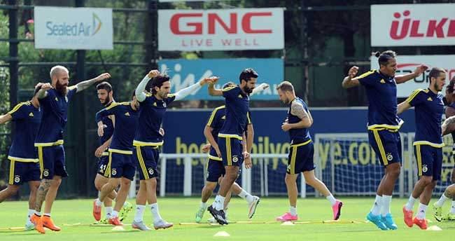 Fenerbahçe, Eskişehirspor maçı hazırlıklarını sürdürdü