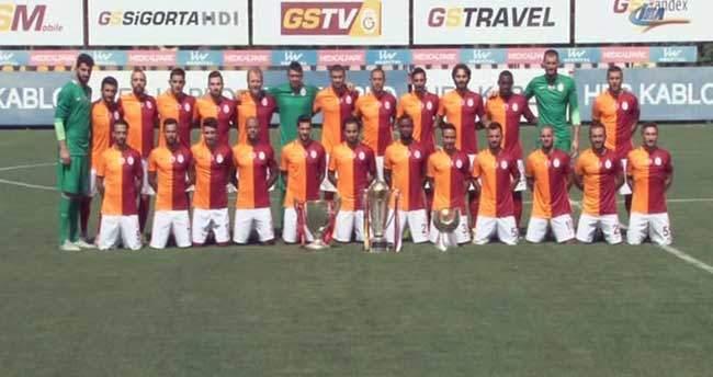 Galatasaray, 3 kupa ile poz verdi