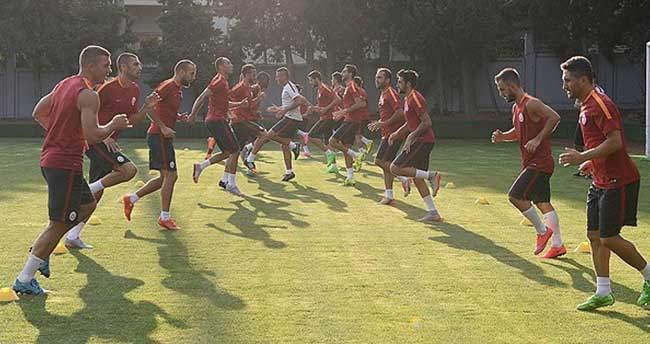 Galatasaray'da lig mesaisi başlıyor