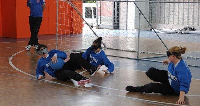 Goalball Konya'da yapıldı