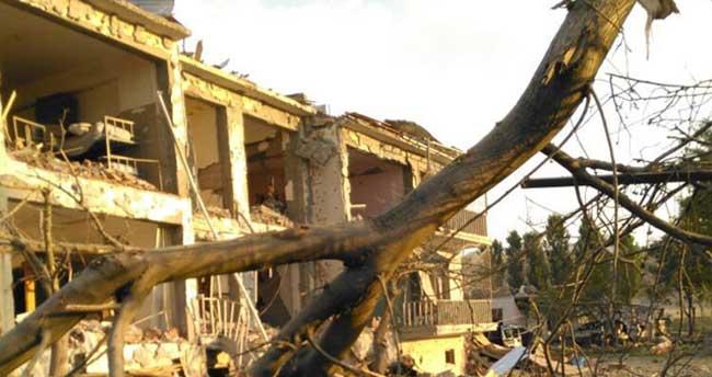 Hain saldırının etkisi gün ağarınca ortaya çıktı